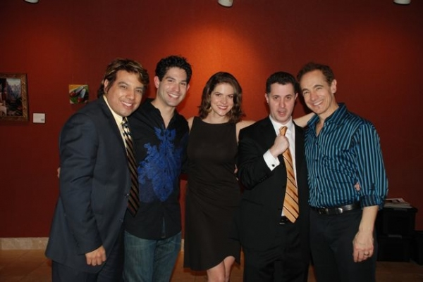 House Manager Devis Andrade, Daniel Tatar, Laura Griffith, Jeff Maynard and Jason Graae