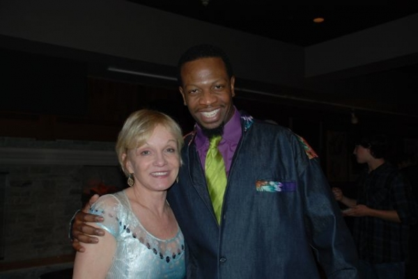 Cathy Rigby and Melvin Abston