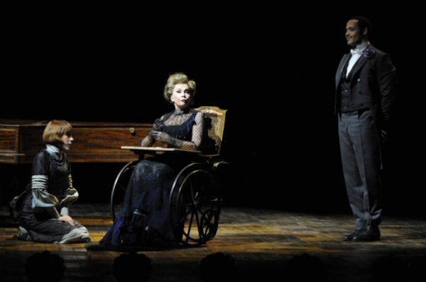 Leslie Caron at Scacchi and Caron Star in Paris' Theatre du Chatele's A LITTLE NIGHT MUSIC