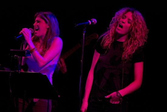 Photo Coverage: Caissie Levy & Kacie Sheik Play Joes Pub