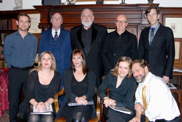 Chad Kimball, Paxton Whitehead, Jim Brochu, David Rooney, Robert Stanton, Cassie Beck Photo