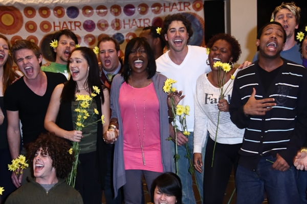 Kyle Raibko, Diana DeGarmo, Jeannette Bayardelle, Ace Young, Wallace Smith and Tribe