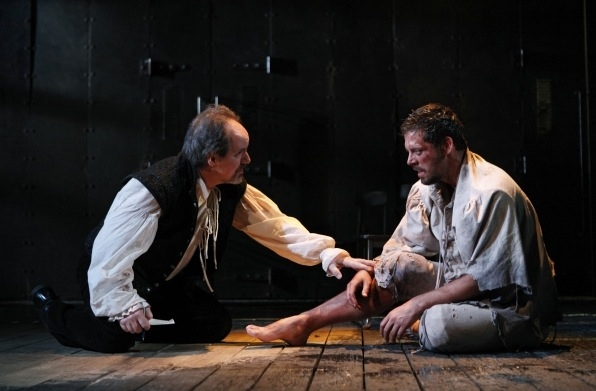 John Pankow and David Furr at MTC Presents EQUIVOCATION by Bill Cain