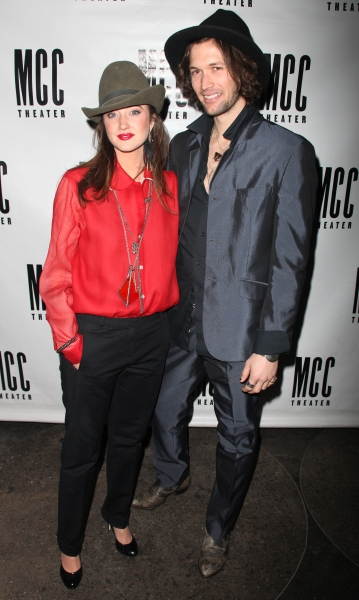Andrea Riseborough and boyfriend Joe Appel