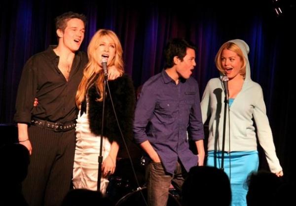 Chris Stack , BethAnn Bonner, Jason Tam and Bree Williamson Photo