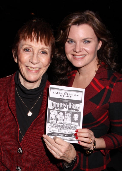 Patricia Elliott and Heather Tom