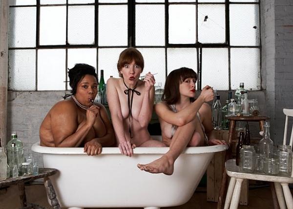 Desiree Burch, Erica Livingston & Cara Francis