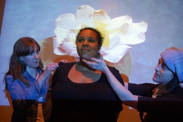 Desiree Burch, Erica Livingston and Cara Francis