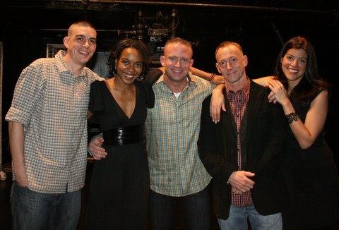 Bobby Moreno,Sameerah Luqmaan-Harris, Joseph Harrell, PJ Sosko and Sheila Tapia. Photo
