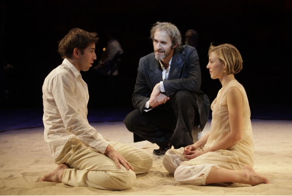 Edward Bennett, Stephen Dillane and Juliet Rylance at The Bridge Project Presents THE TEMPEST