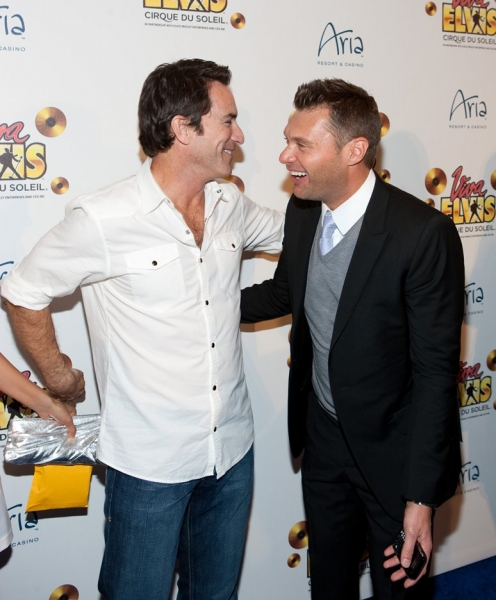 Jeff Probst and Ryan Seacrest