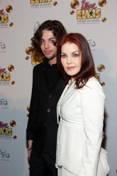 Priscilla Presley and her son Navarone Garibaldi