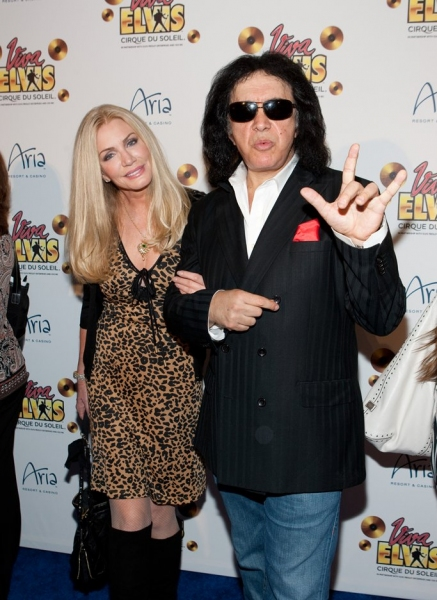 Shannon Tweed and Gene Simmons  Photo
