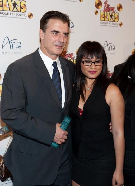 Chris Noth and Tara Wilson
