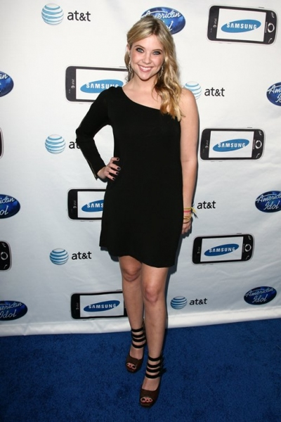 Ashley Benson  at AMERICAN IDOL's Top 24!