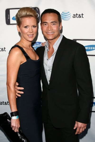 Mark Dacascos and wife Julie