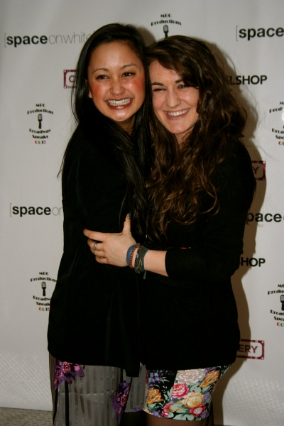 Katie Kiyan and Hannah Shankman at Stars Come Out for Space on White Grand Opening
