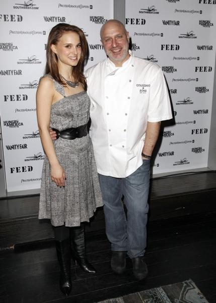 Natalie Portman & Tom Colicchio