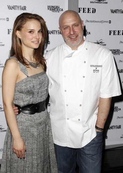 Natalie Portman & Tom Colicchio Photo