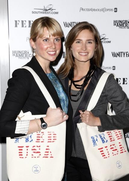 Ellen Gustafson & Lauren Bush