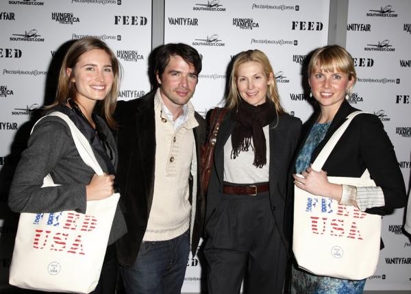Lauren Bush, Matthew Settle, Kelly Rutherford & Ellen Gustafson