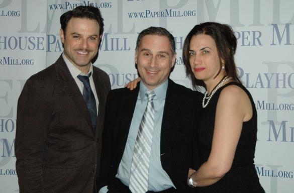 J. Anthony Crane, John Plumpis (Eddie) and Patricia Buckley
