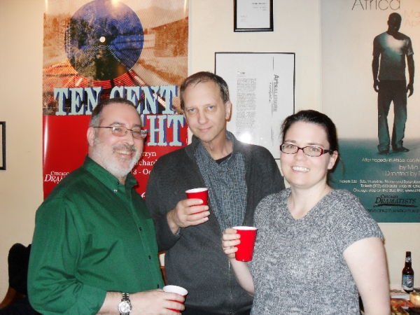 Richard Shavzin with Will Cooper and Dana Lynn Fornby Photo