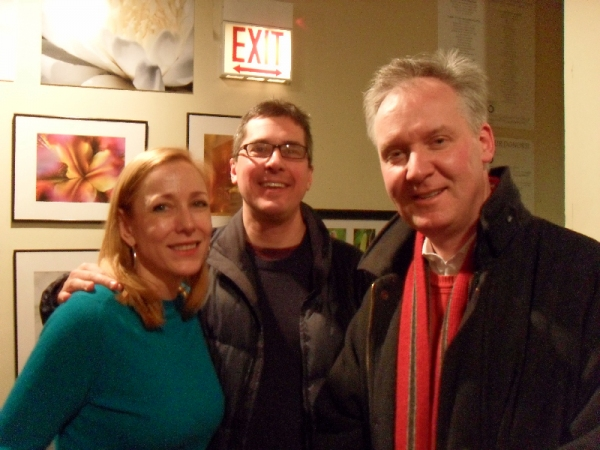 Cynthia Frahm, Mark Young and Steve Peterson Photo