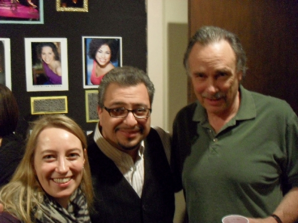 Nancy Ewing,  Richard Perez and Arthur Kopit at Chicago Dramatists' Fireside Chat with Visiting Artist Arthur Kopit