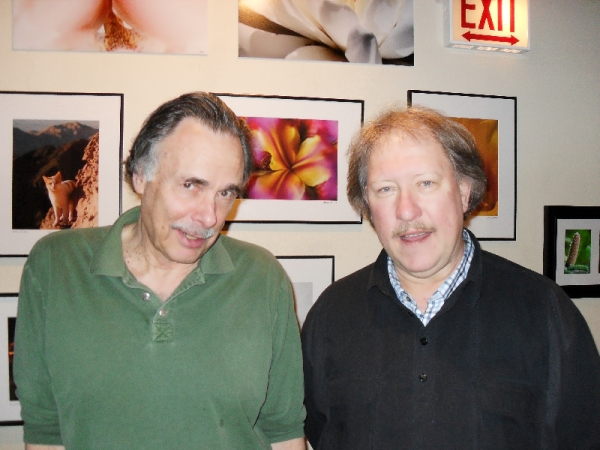 Arthur Kopit and Russ Tutterow