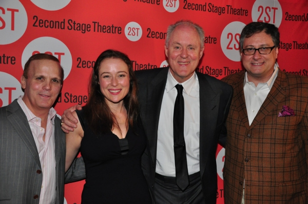 Director Scott Ellis, Jennifer Ehle, John Lithgow, Playwright Douglas Carter Beane