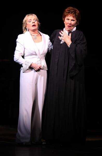 Photo Coverage: SNEEK PEEK at Florence Henderson in BROADWAY BACKWARDS 5