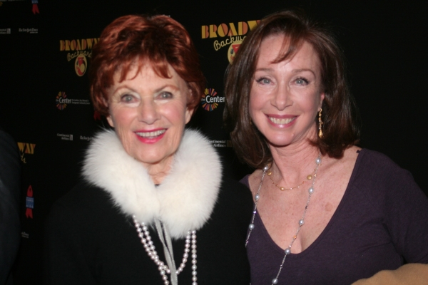 Marion Ross and Sachi Parker