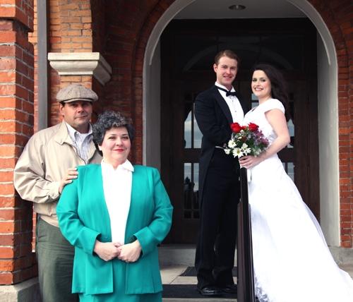 Anthony Rodriguez, Ingrid Cole, Jeremy Wood and Laura Floyd
