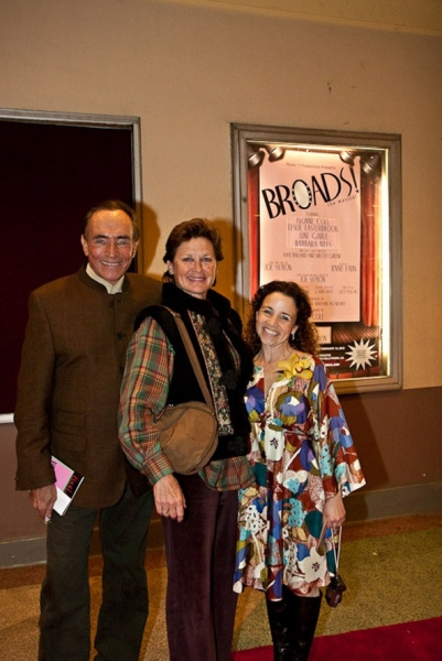 Jules Aaron, Jennie Fahn, Stephanie Zimbalist at BROADS! the Musical At El Portal Forum Theatre