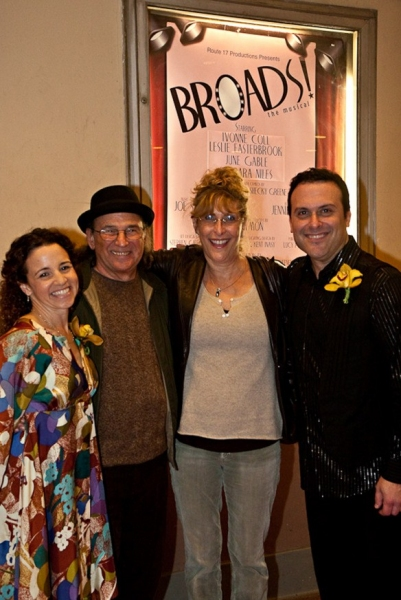 Photo Flash: BROADS! the Musical At El Portal Forum Theatre