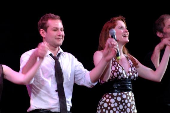 High Res Chad Kimball and Christiane Noll
