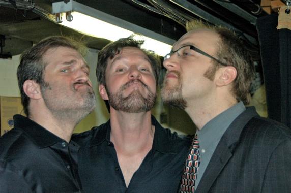 High Res Marc Kudisch, Ron Bohmer and Alexander Gemignani