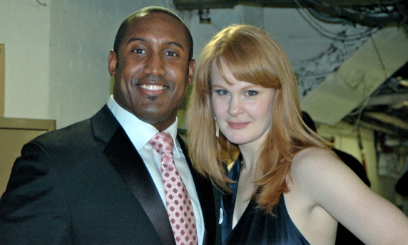 Quentin Earl Darrington and Kate Baldwin