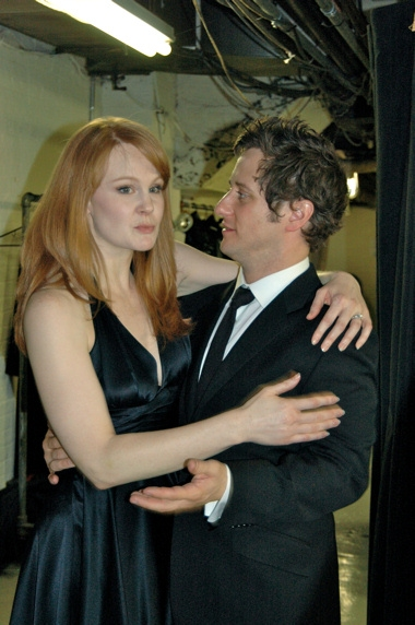 Kate Baldwin and Christopher Fitzgerald
