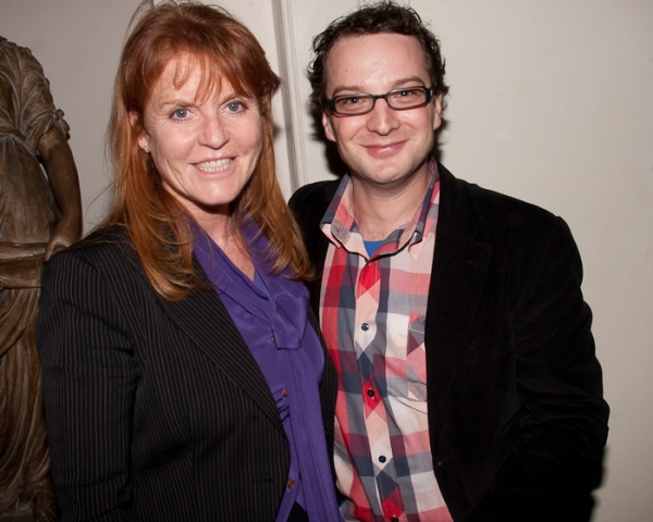 Duchess of York Sarah Ferguson and Euan Morton