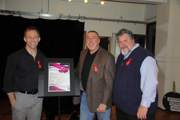 Nathaniel Shaw, Barry Harman, Keith Herrmann