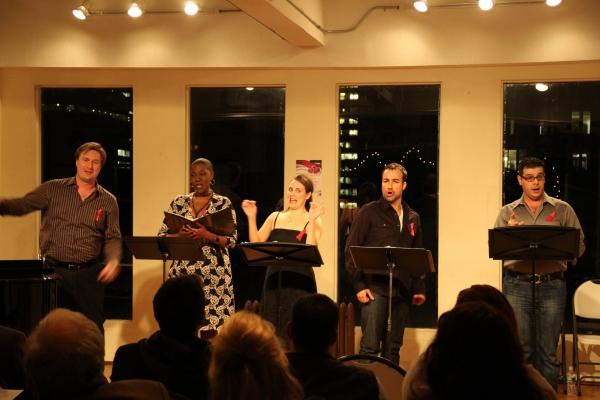 Matt Castle, Laiona Mitchell, Danette Holden, Caesar Samoya, Frank Galgano Photo