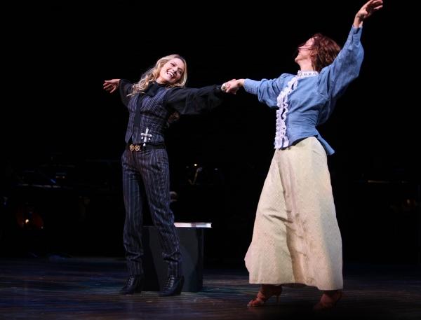 "Becki Newton & Barbara Angeline ( ""Marian The Librarian"" - THE MUSIC MAN )"