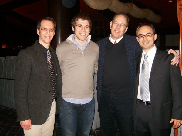 Peter Sullivan, Devin Archer, David H. Bell and Andy Hite