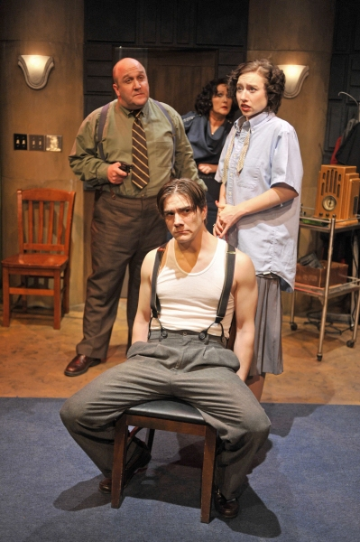 Joseph Albright, Sandra Birch, Alysia Kolascz, Jacob Hodgson at Network Productions Presents IT CAME FROM MARS