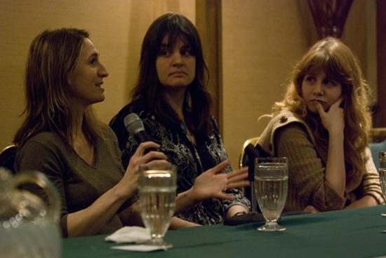 Rinne Groff,Pam Mackinnon, Annie Baker Photo