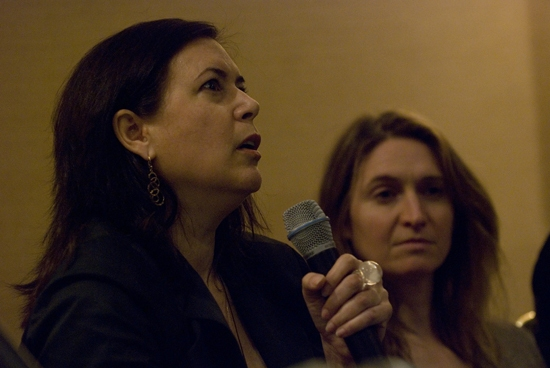 Karen Carpenter & Rinne Groff at Women Playwrights & Directors Panel