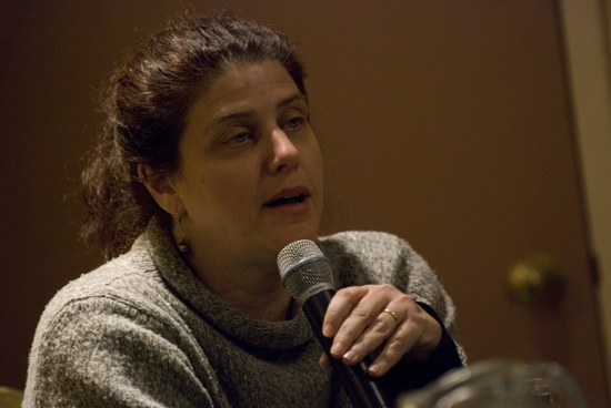 Rinne Groff at Women Playwrights & Directors Panel