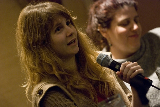 Annie Baker & Rinne Groff at Women Playwrights & Directors Panel